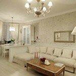 Дизайн гостиной 18 квадратов в стиле прованс
