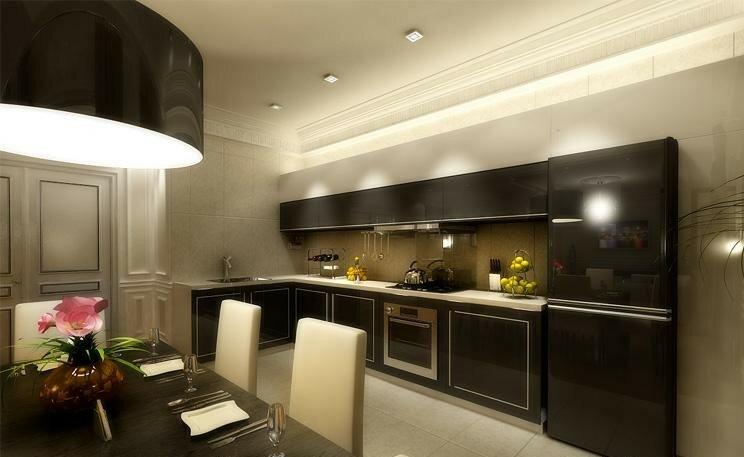 Дизайн кухни гостиной 20 квадратов