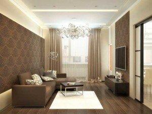 Гостиная 18 квадратов - дизайн