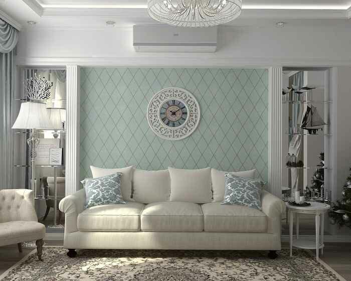 Использование стиля прованс для оформления гостиной