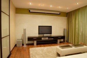 Минимализм в дизайне гостиной 18 квадратов