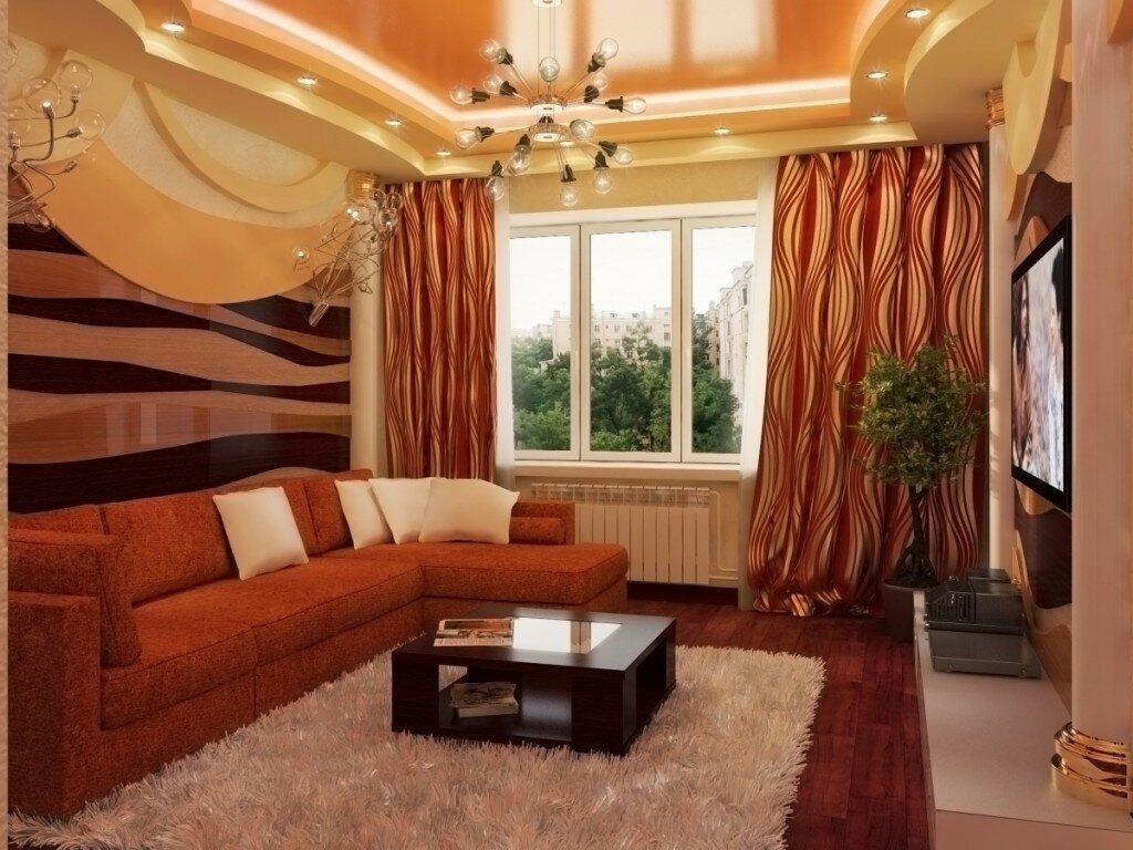 Мягкая мебель в тон оформления интерьера