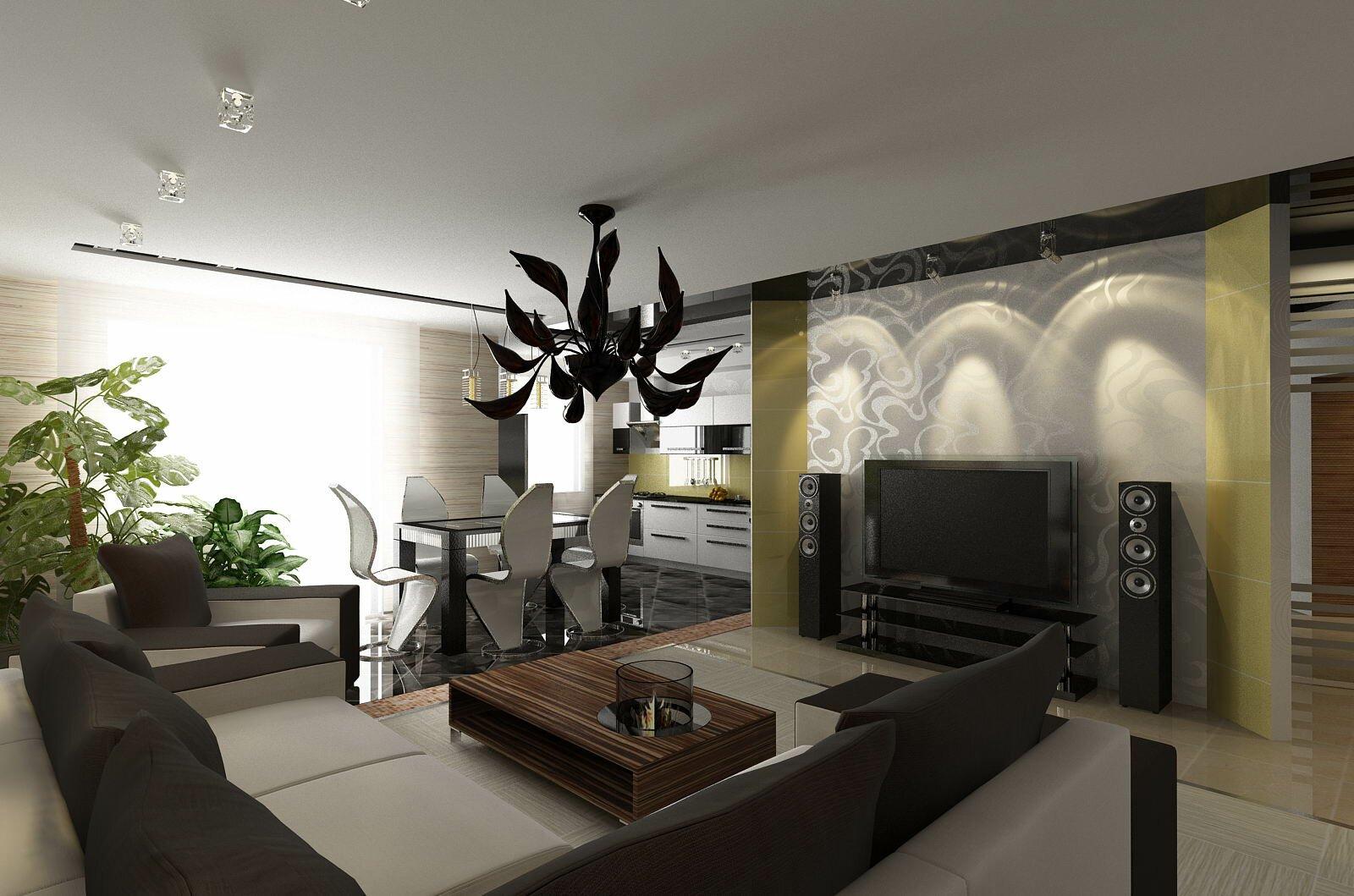 Необычный дизайн кухни гостиной на 30 квадратах фото