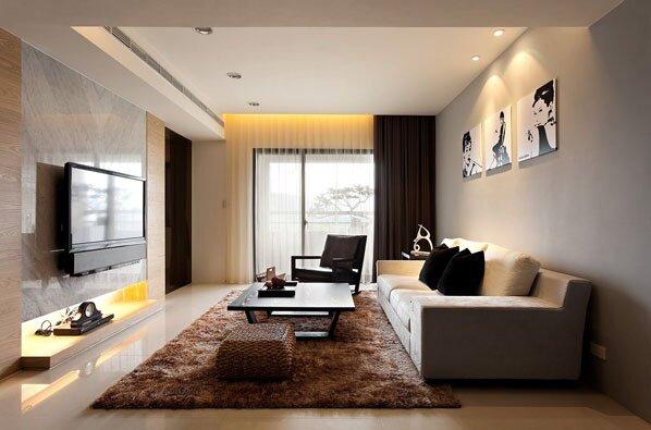 Оформление гостиной 20 кв м
