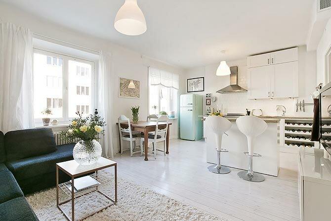 Просторная кухня гостиная 30 квадратов фото дизайн
