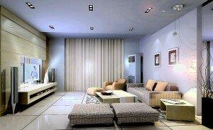Серый цвет в дизайне гостиной 18 кв м