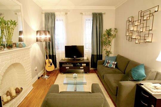 Варианты оформления гостиной в маленькой квартире