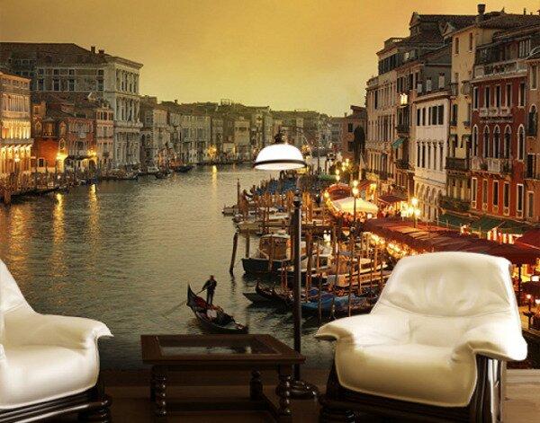 Фотообои с 3D эффектом с видом Венеции