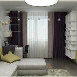 Выбор штор в гостиную, рекомендации и фото
