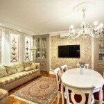 Как создать гостиную в стиле классика