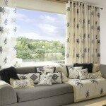 Современные шторы в гостиную, правила оформления