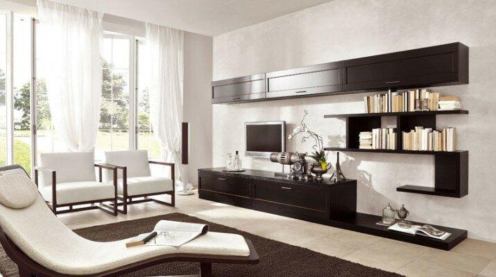 Интерьер гостиной четко соответствующий конкретному стилю
