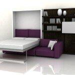 Кровать в гостиной уместно или нет