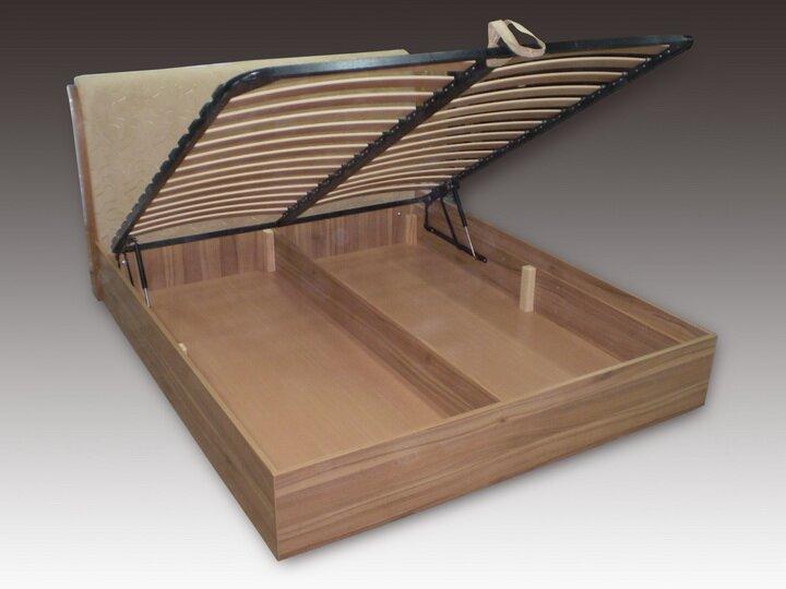 Кровать подъемная с ящиками