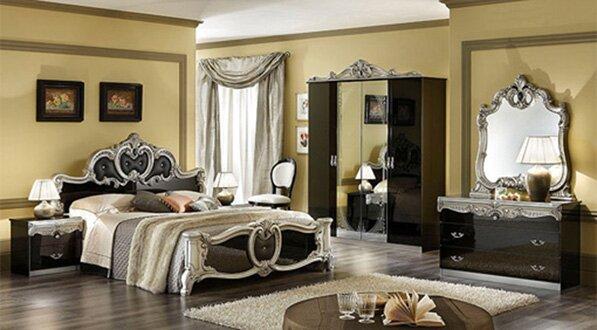Спальня с мебелью итальянского производства
