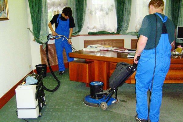 Профессиональная уборка клининговой компанией