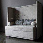 Виды диванов с высокой спинкой