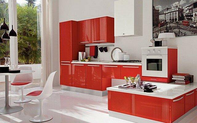 кухни в современном стиле 165