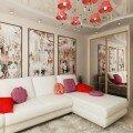 Дизайн гостиной 18 квадратных метром, фото идеи